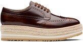 Prada platform Derby lace-up shoes