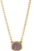 Sonya Renee Oval Druzy Necklace