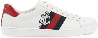 Gucci Men's Ace sneaker with cauliflower