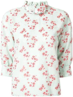 Baum und Pferdgarten floral print blouse