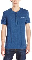 Buffalo David Bitton Men's Nabob Short Sleeve Henley Shirt