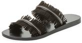 Joie Carmel Fringe Slip-On Sandal