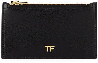 Tom Ford Grain Large Zip Wallet