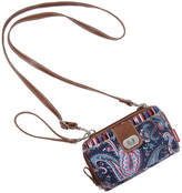 UNIONBAY Union Bay Paisley Wristlet Crossbody Bag