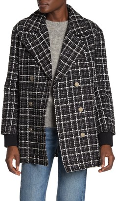DOLCE CABO Tweed Double Breasted Jacket
