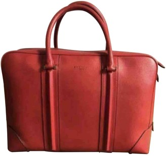 Givenchy Red Leather Bags
