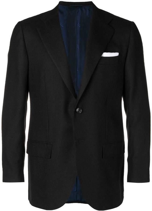Kiton cashmere blazer