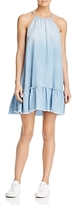 Bella Dahl Ruffled Chambray Dress