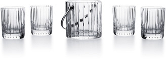 Baccarat Harmonie Ice Bucket With Four Tumblers