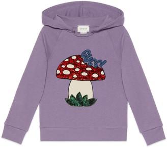 Gucci Children's sweatshirt with mushroom