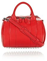 Alexander Wang Rockie In Pebbled Cult With Rhodium