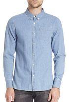 Frame Button-Down Chambray Shirt