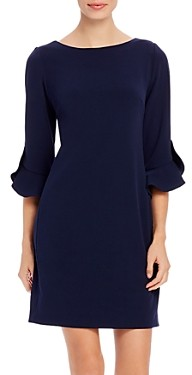 Karl Lagerfeld Paris Scuba Crepe Sheath Dress