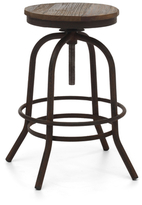 ZUO Twin Peaks Counter Stool