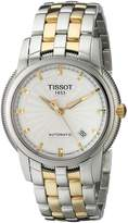 Tissot Men's T97248331 T-Ring Two-Tone Bracelet White Dial Watch