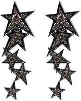 Luis Miguel Howard White Diamond Rock Star Earrings
