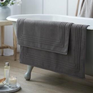 The White Company Egyptian Bath Mat, Slate, Medium