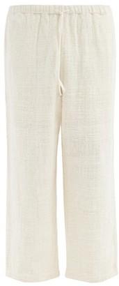 11.11 / Eleven Eleven - Straight-leg Organic-cotton Khadi Trousers - Cream