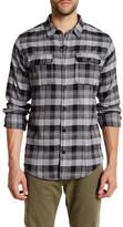 Burnside What Long Sleeve Regular Fit Plaid Shirt