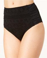 Roxy Cozy and Soft Crochet High-Waist Swim Bottoms