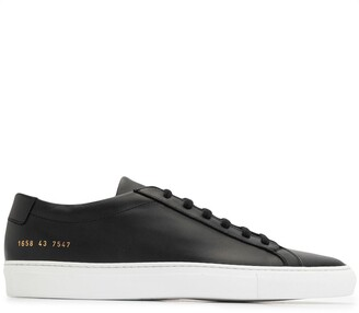 Common Projects Low-Top Leather Trainers