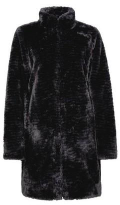 Dorothy Perkins Womens Black Longline Faux Fur Coat, Black