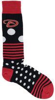 For Bare Feet Arizona Diamondbacks Dots and Stripes 538 Socks