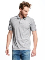 Old Navy Flag-Printed Pique Polo for Men