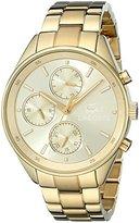 Lacoste Women's 2000866 Philadelphia Gold-Tone Stainless Steel Watch