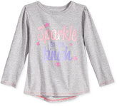 Champion Little Girls' Graphic-Print Long-Sleeve T-Shirt