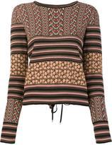 Rachel Zoe 'Ryan' knit blouse