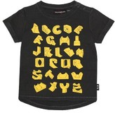Rock Your Baby Infant Boy's Skate Ramp Alphabet T-Shirt