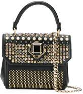 Elie Saab Swarovski crystal embellished mini handbag