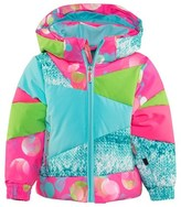 Spyder Blue Bitsy Duffy Puff Ski Jacket
