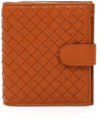 Bottega Veneta Intrecciato Compartment Wallet