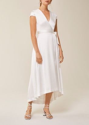 Ivy & Oak Bridal Wrap Dress