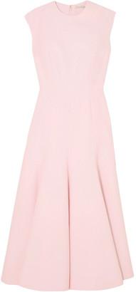 Emilia Wickstead Denver Cloque Midi Dress