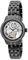 Invicta Women's 0567 Vintage Collection Mechanical Skeleton Stainless Steel Watch