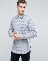 Jack & Jones Originals Shirt In Slim Fit With Brushed Check
