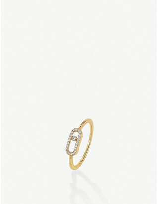 Messika Move Uno 18ct yellow-gold and diamond ring