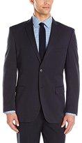 Adolfo Men's Modern Fit Micro Tech Suit Jacket