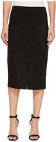 Karen Kane Faux Suede Midi Skirt Women's Skirt