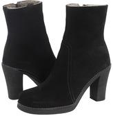 La Canadienne Kimberley (Black Suede/Shearling) - Footwear