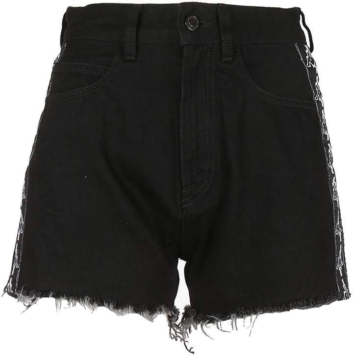 Marcelo Burlon County of Milan Fringed Shorts