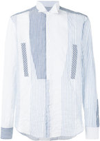 Loewe striped shirt - men - Cotton/Polyurethane - 39
