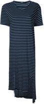 Bassike striped tail T-shirt dress - women - Cotton - XS