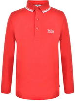 BOSS Children Boys Long Sleeve Polo Shirt