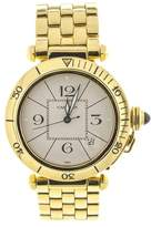 Cartier 18k Yellow Gold Pasha 820903 Watch
