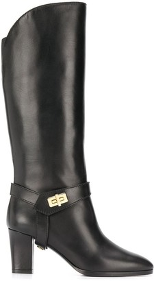 Givenchy Eden block heel boots