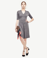 Ann Taylor Tall V-Neck Sweater Dress